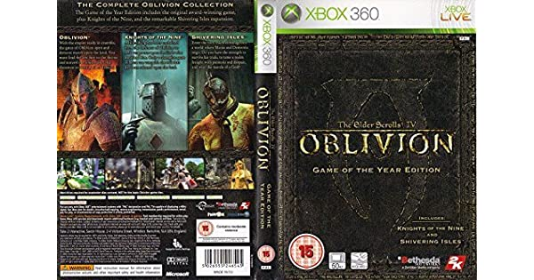 Elder Scrolls IV Oblivion Game Of The Year Edition (Xbox 360) by Take 2: Amazon.es: Videojuegos