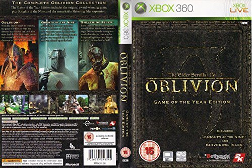 elder scrolls iv oblivion game of the year edition xbox 360