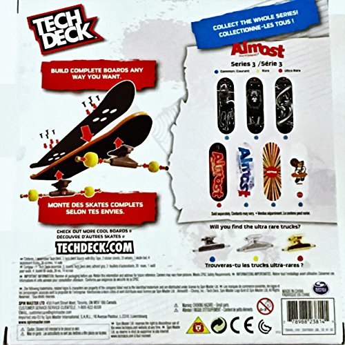 Tech Deck - Sk8shop Bonus Pack Series 3 - Almost Skateboards by Spin Master (Image #1)