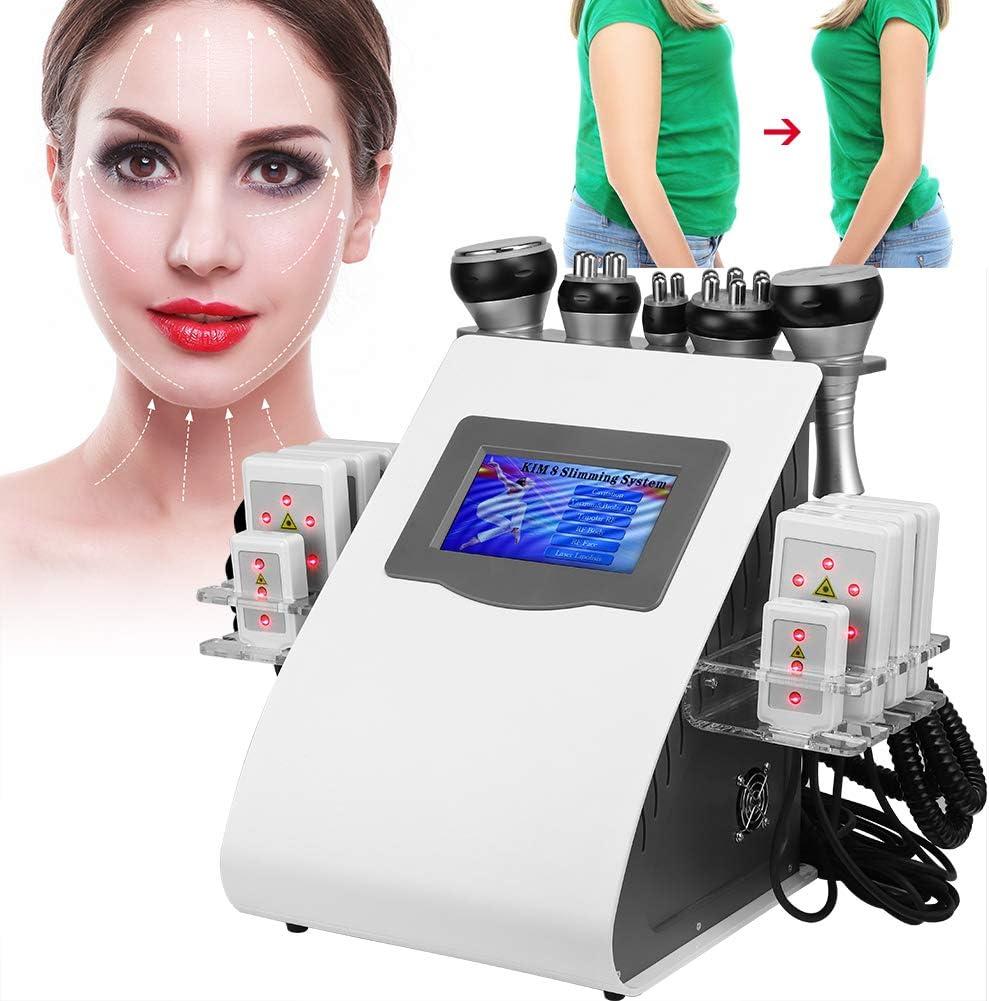 マッサージャー、マニュアル、アンチリンクルスキンリフティング美容機器、CE、FDA承認の脂肪燃焼セルライト除去マッサージャーをSlim身1 RF超音波真空ボディに5(110V)
