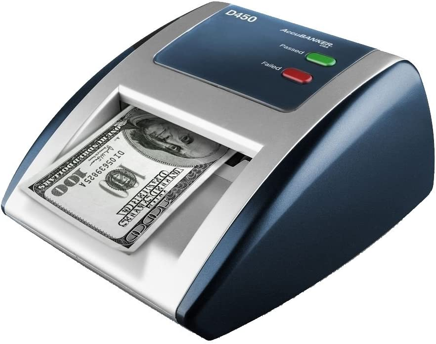 AccuBANKER D450 Counterfeit Money Checker