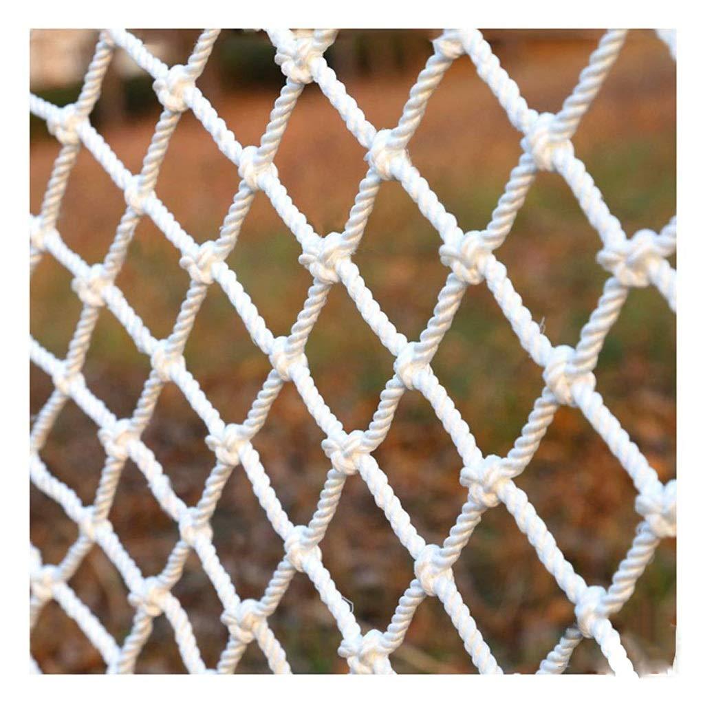 バルコニー装飾ネット、階段バルコニー安全ロープネット植物保護ネット屋外猫ネットセーフティネット、子供の遊び場保護ネット (Size : 2*5m)  2*5m