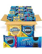 Cookies Variety Pack, Original, Golden, Double Stuf & Thins, Halloween Snacks, 56 Snack Packs