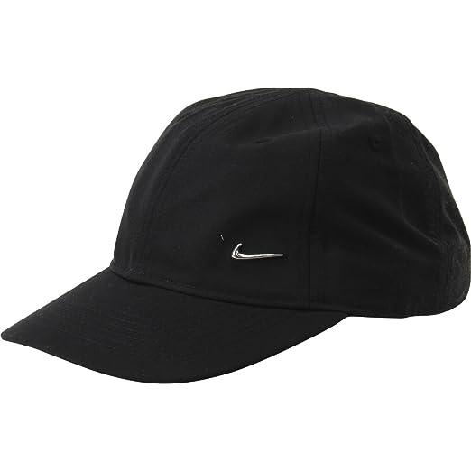 38efdecefbf Amazon.com  Nike Little Boy s Heritage 86 Black Baseball Cap Hat Sz ...