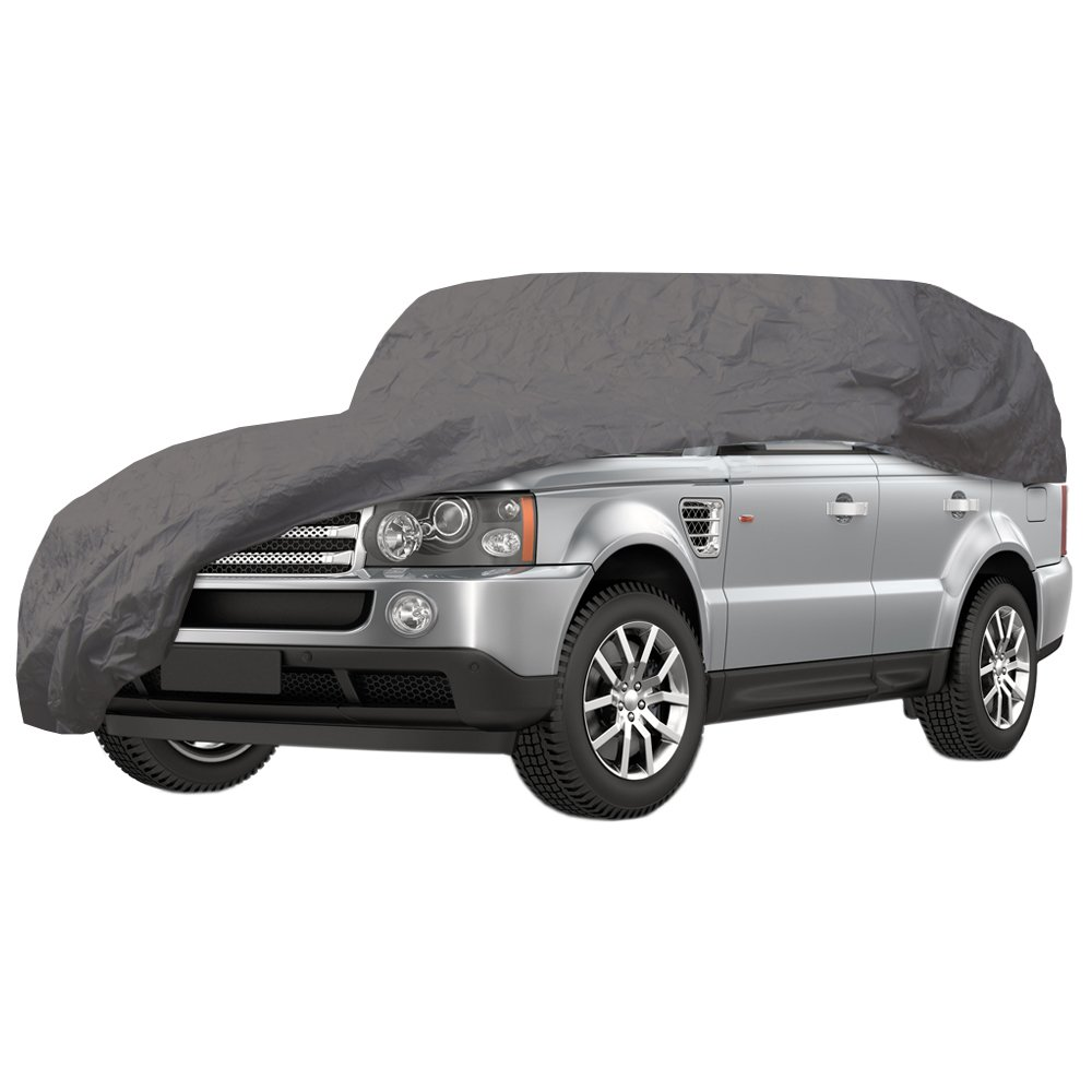 Large Car Cover - 100% Waterproof - Heavy Duty - Double Stitched - 455-490cmx178cmx120cm Chameleon
