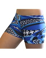 "GemGear Mamba Print 6"" Inseam Compression Shorts"