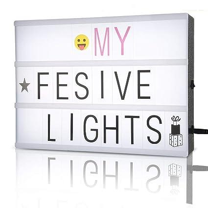 Amazon Light Box Cinematic Lightbox A4 Message Light Box