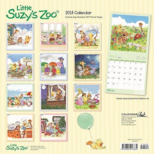 Little Suzys Zoo Wall Calendar, Baby by Calendar Ink