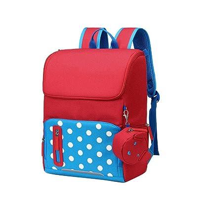 DYYTR Mochila para niños, Ligero Impermeable Escuela de Viaje de Ocio Mochila Oxford Tela Mochila