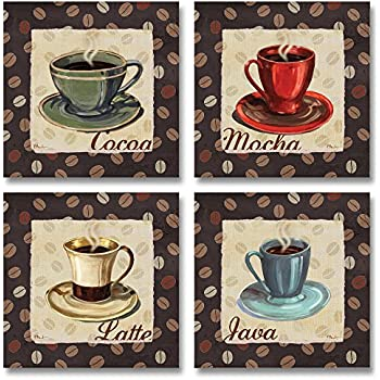 Amazon Com Cup Of Joe Vintage Coffee Art Print Posters By