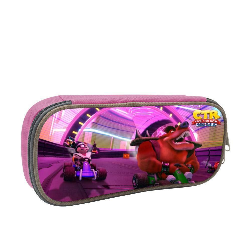 Amazon.com : GSGSDG CTR Go Kart Racing Pencil Case for Kid ...