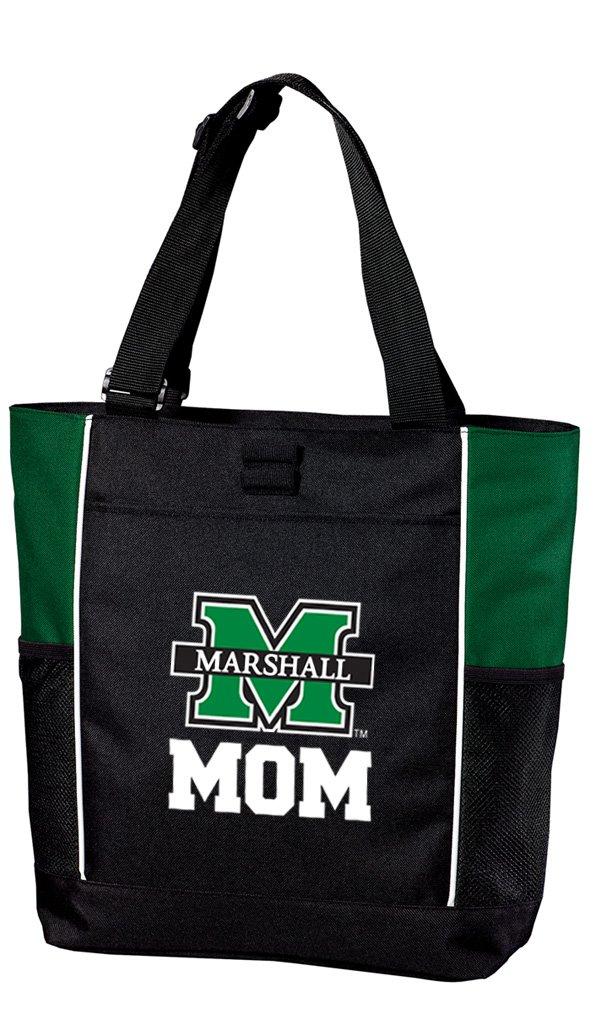 Broad Bay Marshallマーシャル大学MomママトートバッグカラーブロックTotesビーチプールまたは旅行 B07CRMQRYF