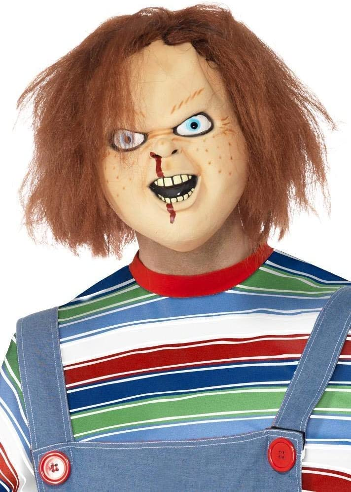 Smiffys - Máscara de látex con diseño de Chucky: Smiffys: Amazon ...