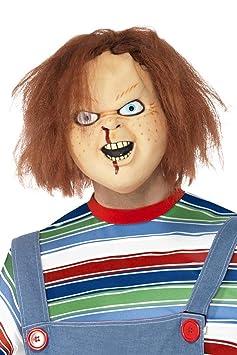 Smiffys - Máscara de látex con diseño de Chucky: Smiffys: Amazon.es: Juguetes y juegos