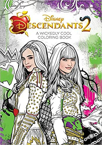 Amazon Descendants 2 A Wickedly Cool Coloring Book Art Of 9781368014397 Disney Group Books