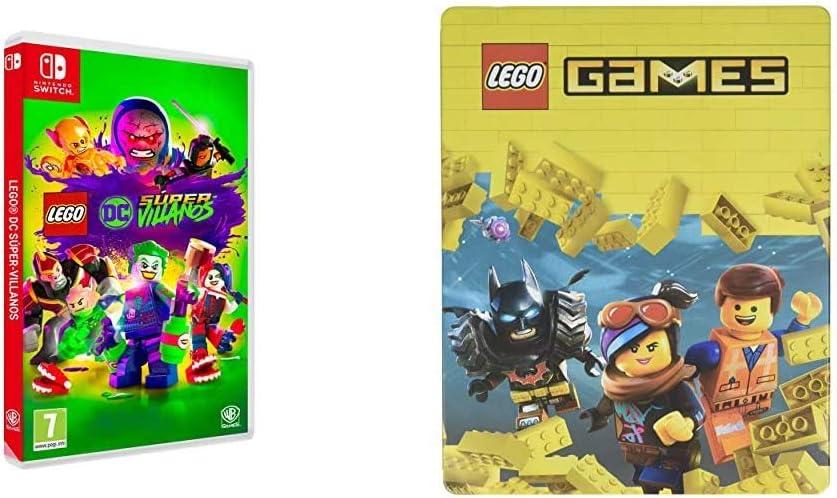 Lego DC Super-Villanos Nintendo Switch, Edición Exclusiva Amazon ...