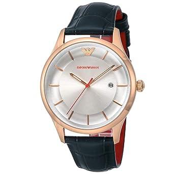 best sneakers 99b81 0ec3e Amazon | [エンポリオ アルマーニ] EMPORIO ARMANI 腕時計 革 ...