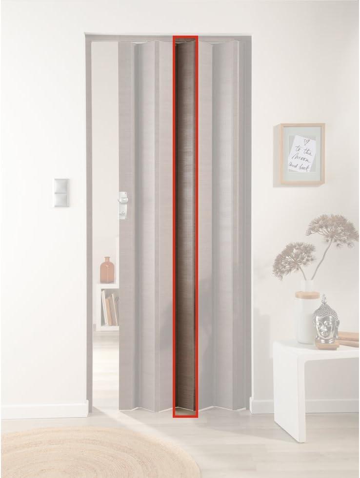 Forte türerweiterung, láminas adicional para puerta plegable Elvira, roble taupe: Amazon.es: Bricolaje y herramientas