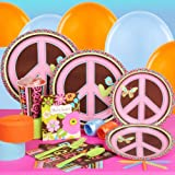 Hippie Chick Standard Party Pack for 8 guests