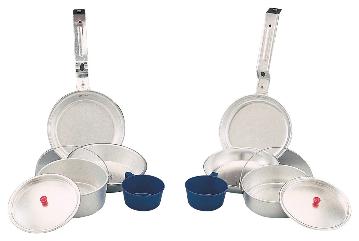 Rothco Aluminum Deluxe Mess Kit (5 Piece) 168 bcs168mar