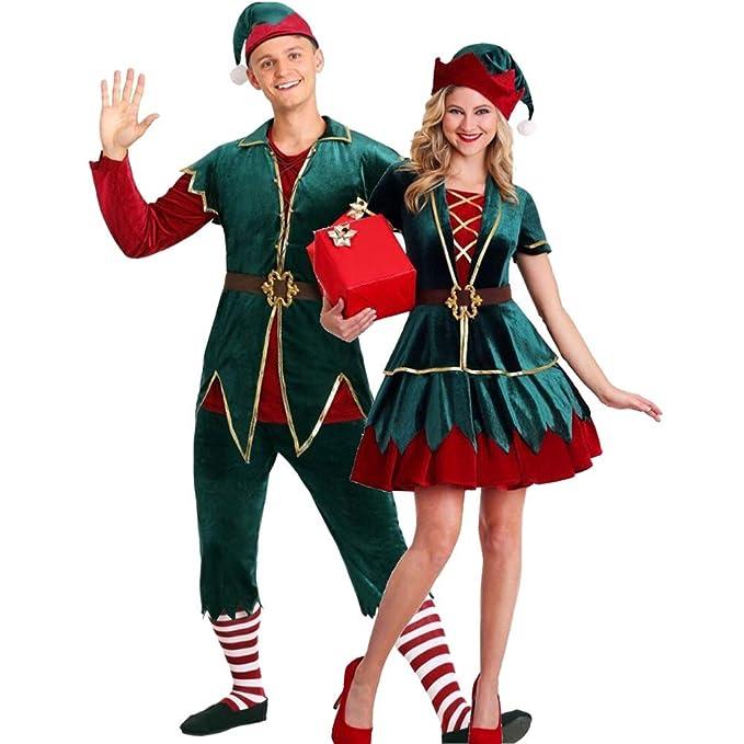 HEITIGN Disfraz De Duende De Navidad, Lujoso Y Hermoso ...