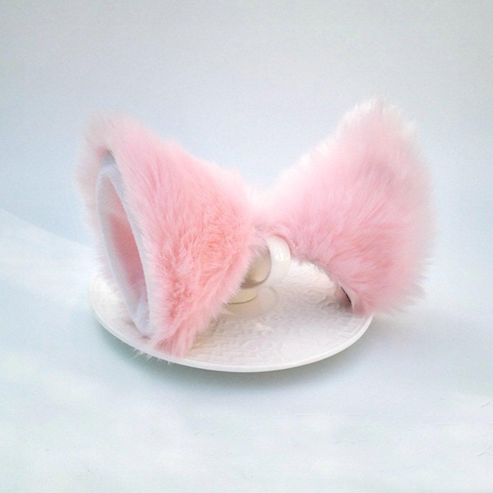 Sheicon Cat Fox Fur Ears Hair Clip Headwear Anime Cosplay Halloween Costume