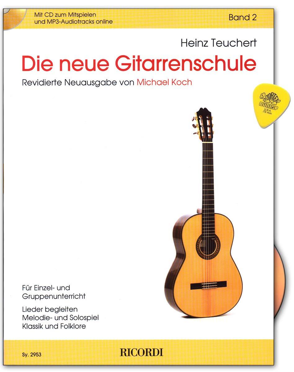La nueva escuela de guitarra Band 2 con CD, audio en línea, Plek ...