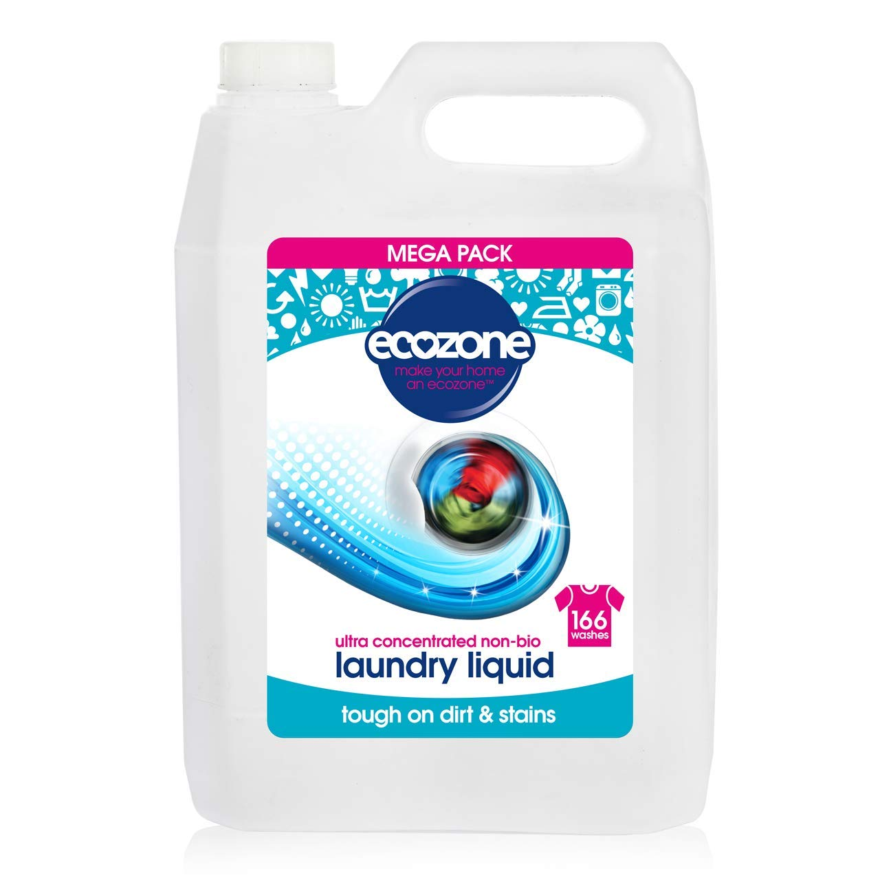 Ecozone Ultra Concentrated Non-Bio Laundry Liquid 5lt X LLDN5L