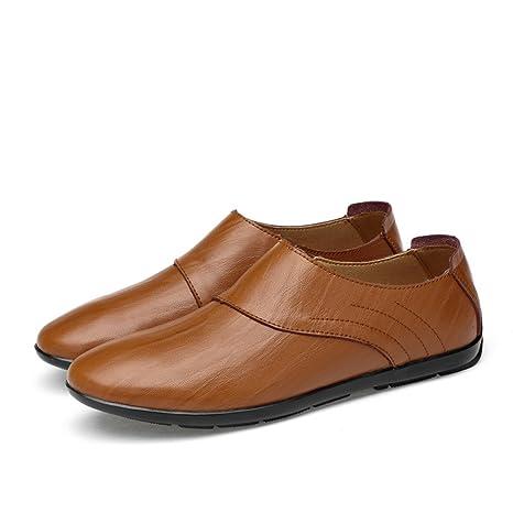 Xiazhi-shoes, Mocasines de los Caballeros Superiores de los Hombres Zapatos Casuales de los