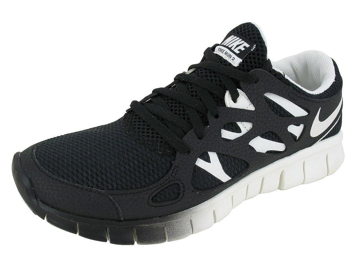 factory authentic b9f0a 3d6de Amazon.com   Nike Women s Free Run+ 2 EXT - Black   Sail, 6 B US   Running