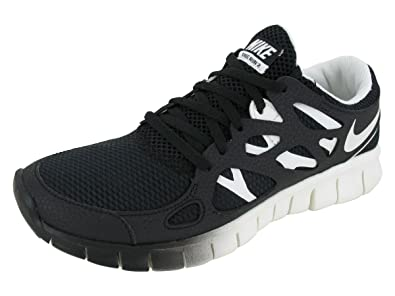 sale retailer 3eba4 bf761 Image Unavailable. Image not available for. Color  Nike Women s Free Run+ 2  EXT - Black ...