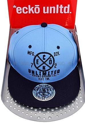 Ecko Unltd Rhino marca gorra de béisbol visera plana.: Amazon.es ...