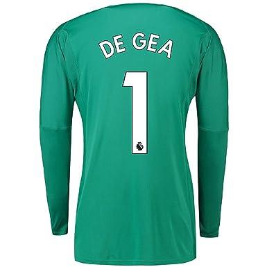 e9f6910ff9c De GEA #1 Manchester United 2018/2019 Goalkeeper Jersey Green (S-XL