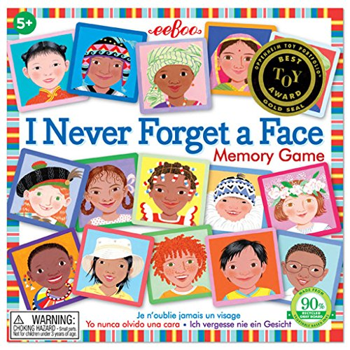 11y Memory - eeBoo I Never Forget a Face Matching Game