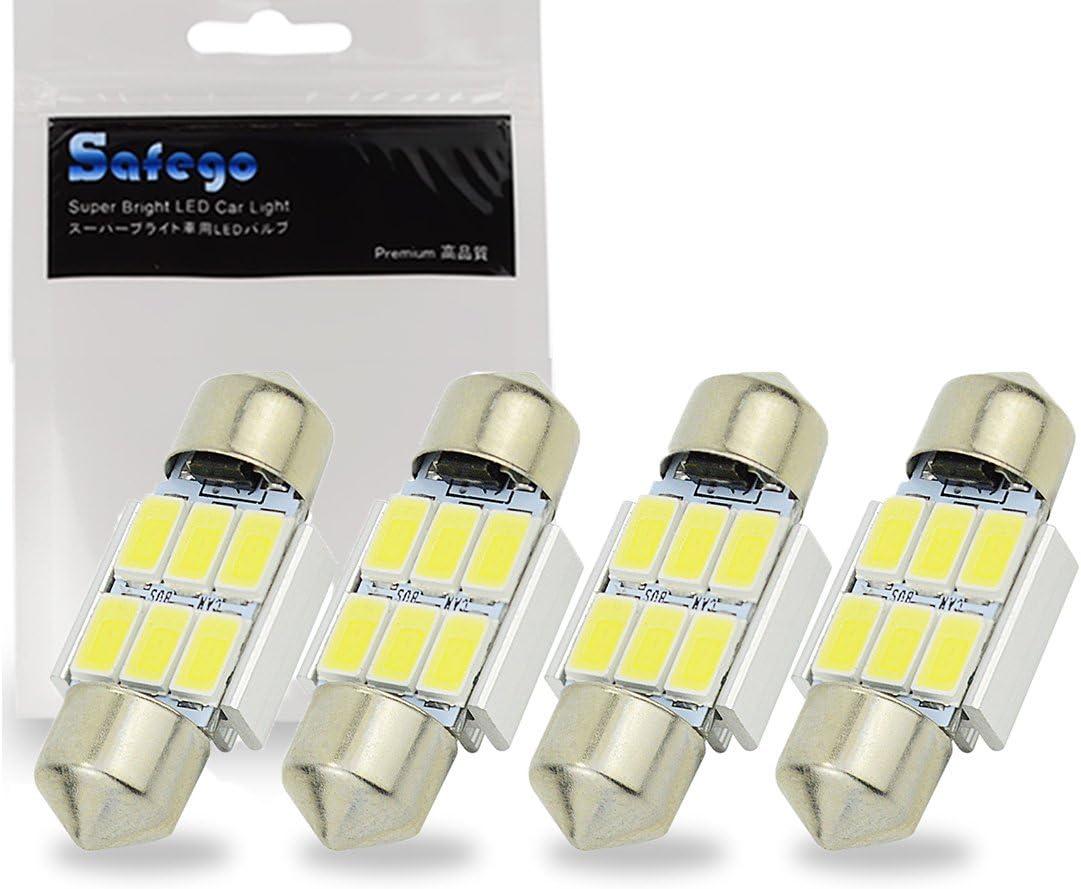 Safego 4 x 31mm LED Feston 1.25