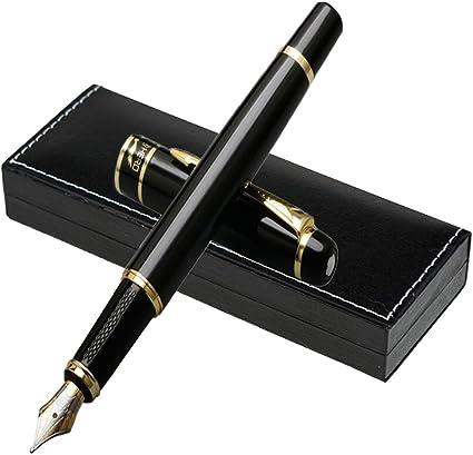 Juego de pluma estilográfica con caja de regalo, diseño moderno, edición limitada, diseño vintage de bolígrafos de la colección Vintage: Amazon.es: Oficina y papelería
