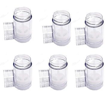 Amazon.com: Contenedores de desodorante redondos de plástico ...