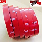 3M Double Sided Acrylic Foam Mounting Tape | Size 10mm x 3m | Thickness 1mm | 3M 4218P Acrylic Foam Tape | Packed by TeeDeeGroup in a special non stick plastic bag
