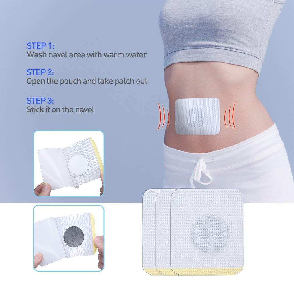 Yofafada 30 Pcs//Bag Diabetic Patch Stabilizes Blood Sugar Balance Blood Glucose Patch White