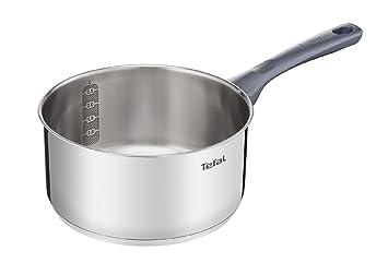 Tefal Daily Cook - Cazo de 16 cm, Acero inoxidable, para todo tipo de cocinas incluido inducción: Amazon.es: Hogar