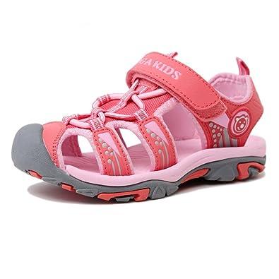 9d48cd04cb8b3 SITAILE Chaussures de Sport Sandales Mixte Enfant Extérieur Sandales Bout Fermé  Garçon Fille