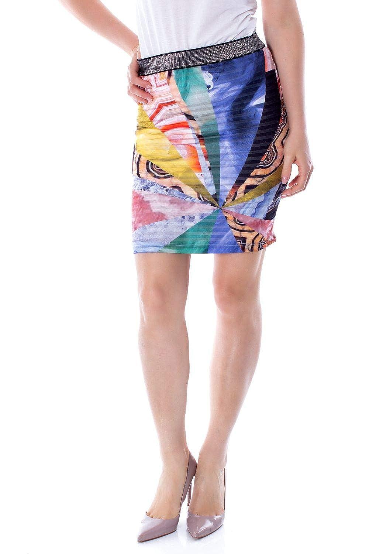 Desigual Luxury Fashion Mujer 19SWFK07MULTI Multicolor Falda ...