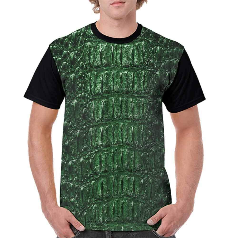 Printed T-Shirt,Abstract Tiger Skin Fashion Personality Customization