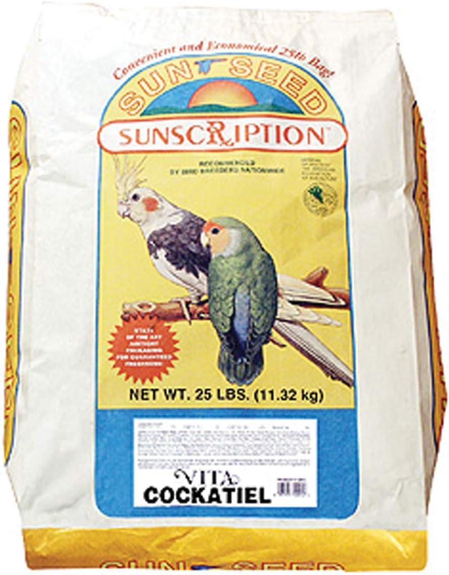 Sun Seed Company Cockatiel Vita-Mix 25lb