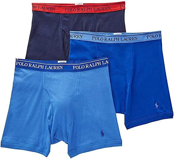 Polo Ralph Lauren Classic Fit Three Pack Cotton Boxer Briefs YOU PICK