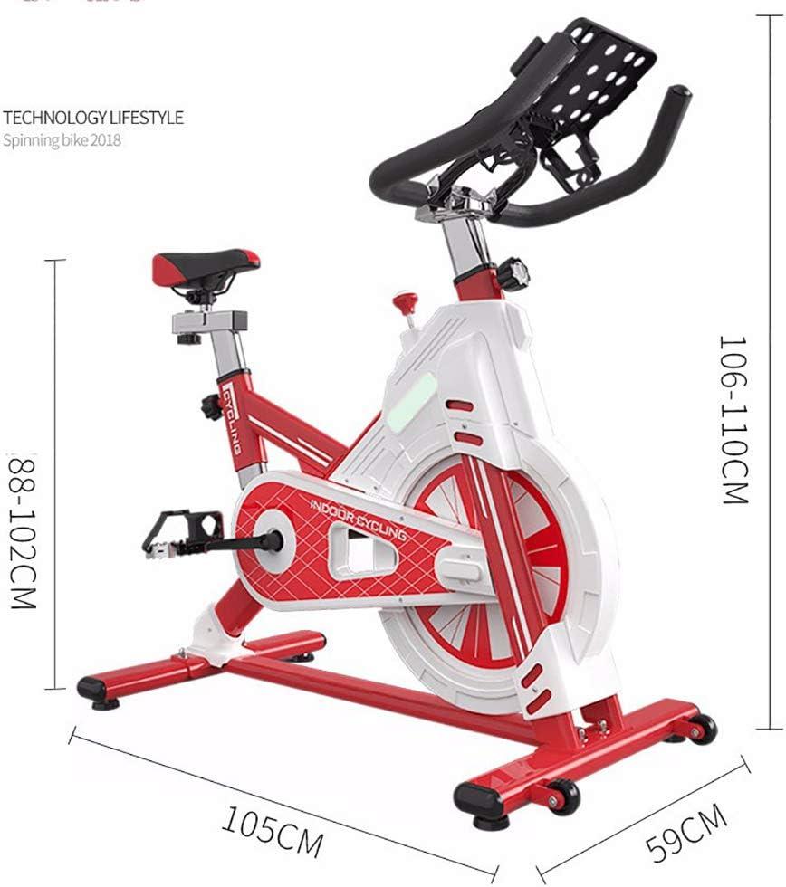 CNRGHS Inicio Bicicleta De Spinning, Ultra Silencioso con Todo ...