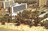 Isla Verde Puerto Rico Hotel San Juan Birdseye View Vintage Postcard K33477