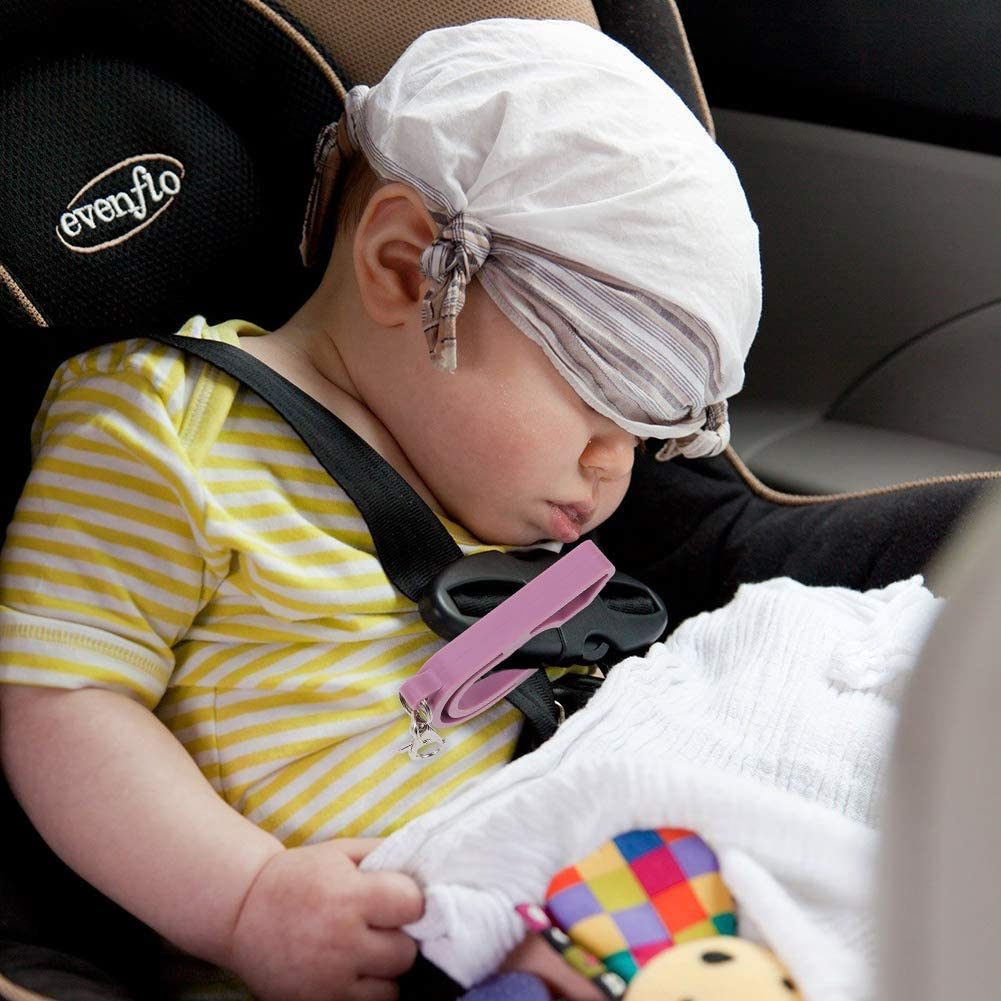 Portable Car Seat Unbuckler Baby Carseat Unbuckler MSTG Tech Child Car Seat Key Easy Unbuckle Release for Kids Caregivers Caretakers Light Blue