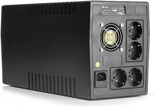 NGS SAI Fortress 2000 V2 1500VA/900W Off Line Proteccion ...