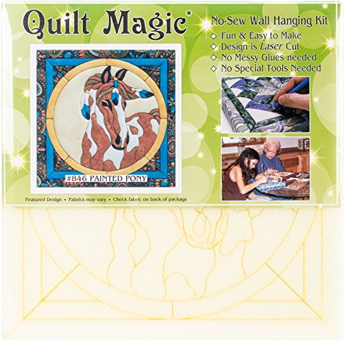 Quilt Magic Qm846 Painted Pony Kit-12x12 by Quilt Magic